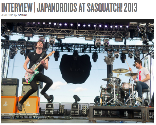 Caley Vanular Interviews Japandroids