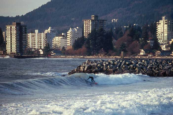 Ambleside Vancouver Surfing - Caley Vanular